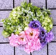 結婚式の花々 生花