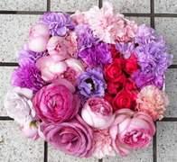 結婚式の花々