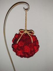 石川県の山本様 :薔薇のフラワーボール♪