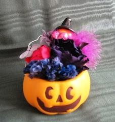 福島県の松本様 : ハロウィンのプリザーブドフラワーアレンジ♪