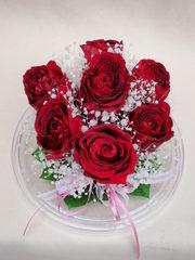 結婚式の花束をプリザーブドフラワーに♪