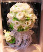 親友からの生花ブーケをプリザーブドフラワーに♪
