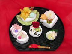 京都の唐渡様:和菓子のプリザーブドフラワー♪