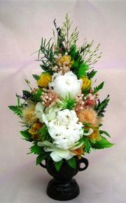 仏花のプリザーブドフラワー