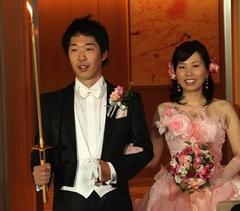 尾和様結婚式披露宴