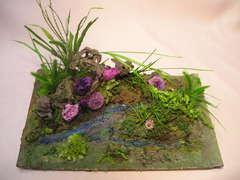 リンドウや小菊のプリザーブドフラワーで「ぷり花遊び」♪