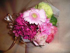 生花のミニ花束