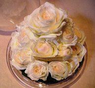 生花のブーケをプリザーブドフラワーに♪