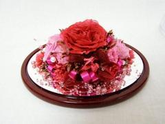 千葉県の山岸様 : 色々な品種の薔薇をプリザーブドフラワーに♪