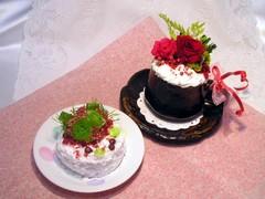 京都府の山本様ー待ちに待った花ケーキ!!
