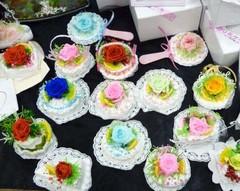ぷり花ケーキたち